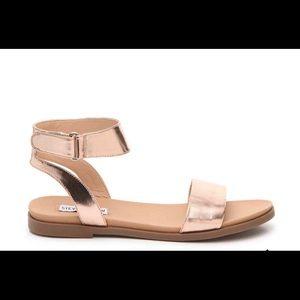 Steve Madden Meghan Sandal - Rose Gold - Size 10